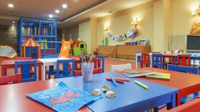 Mini club para niños del Hotel