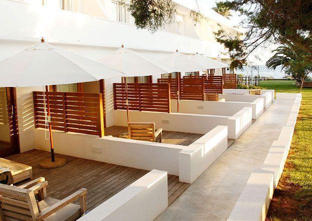 Terrazas del hotel