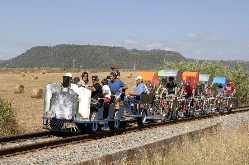 Ciclo rail El Trempat El Cardener