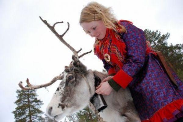 Parque de los Samis de Noruega