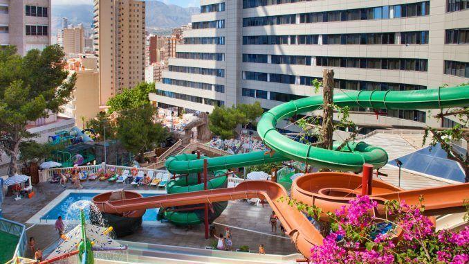 hotel con toboganes