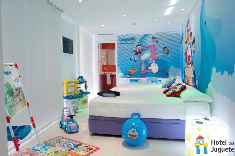 Hotel tematico para niños del juguete
