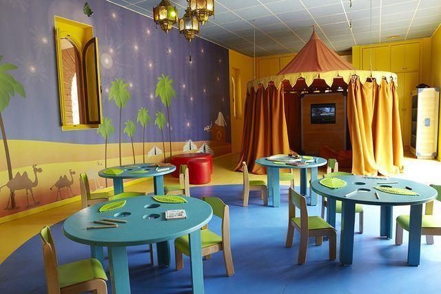 espacio infantil Club Med