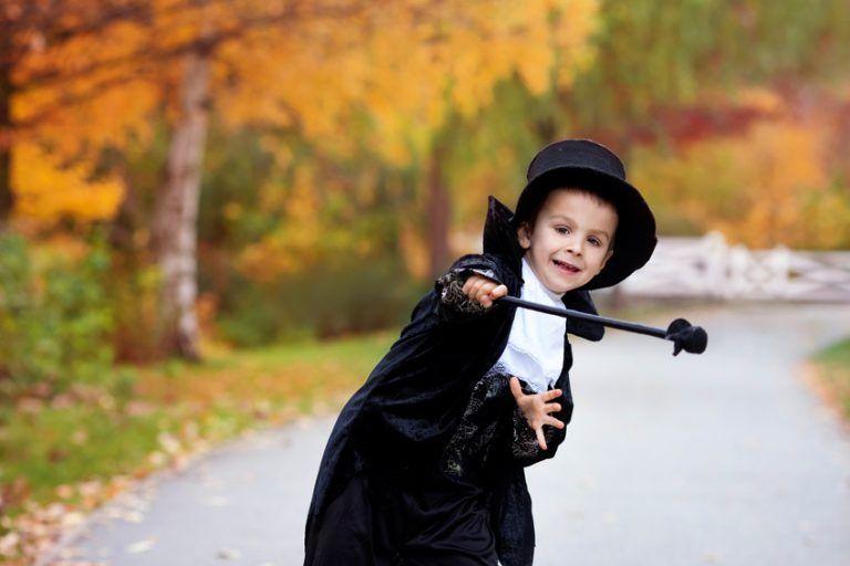 escapade halloween con niños