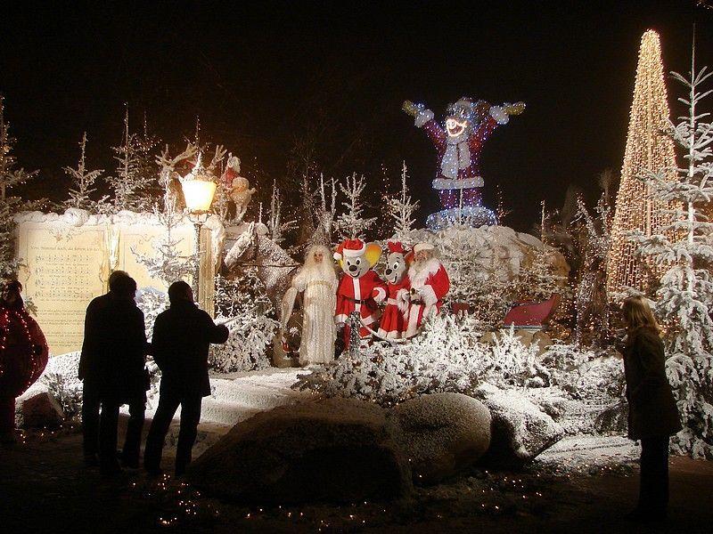 HOLANDA CON NIÑOS parque efteling en Navidad