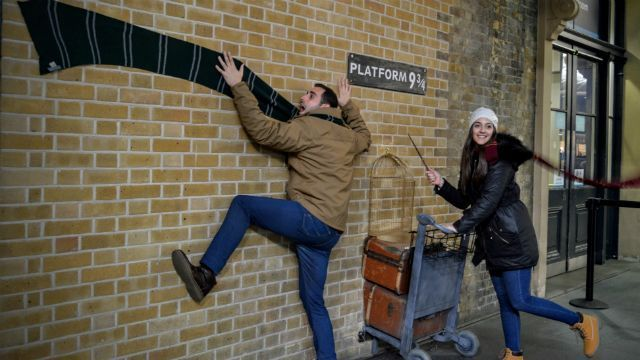 estación londres harry potter