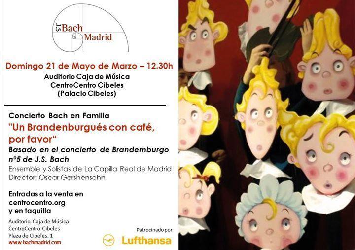 conciertos de Bach en familia