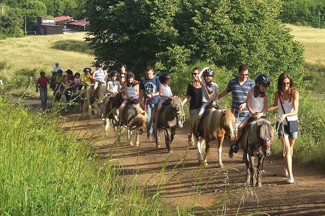 Actividades para niños en el Parque Natural de la Garrotxa