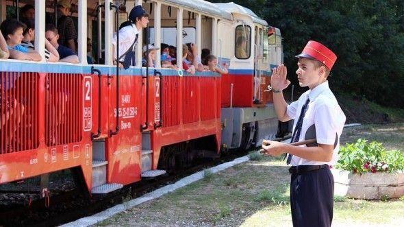 tren de los niños de Budapest
