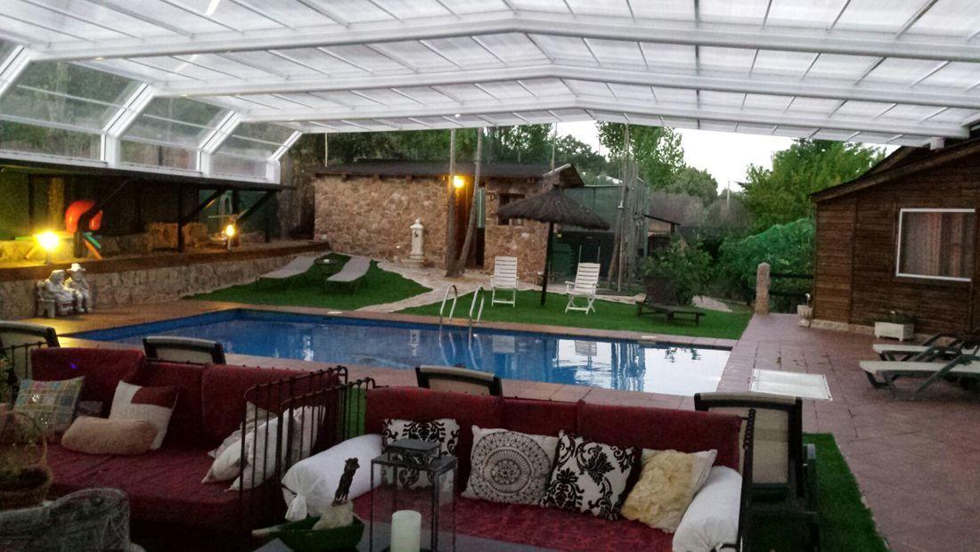piscina cubierta Tejera de Lozoya