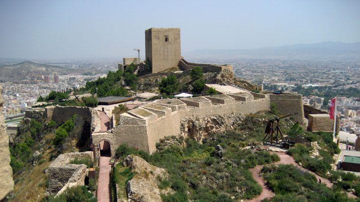 El Castillo de Lorca con niños